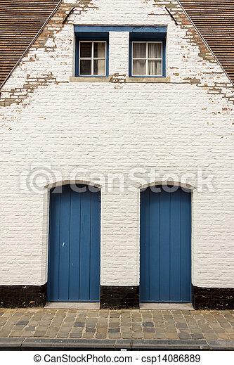 Images de deux bleu bois porte brugge belgique deux bleu csp14 - La porte bleu belgique ...