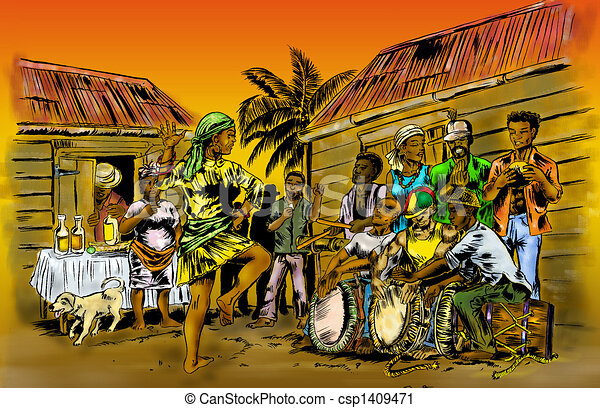 drummer band - csp1409471