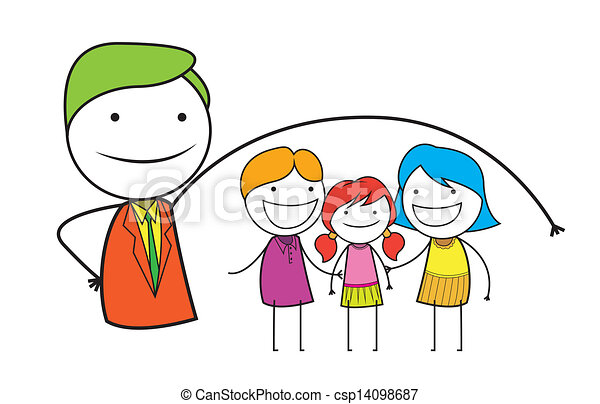 family insurance - csp14098687