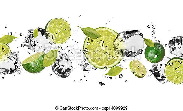 Ice fruit - csp14099929