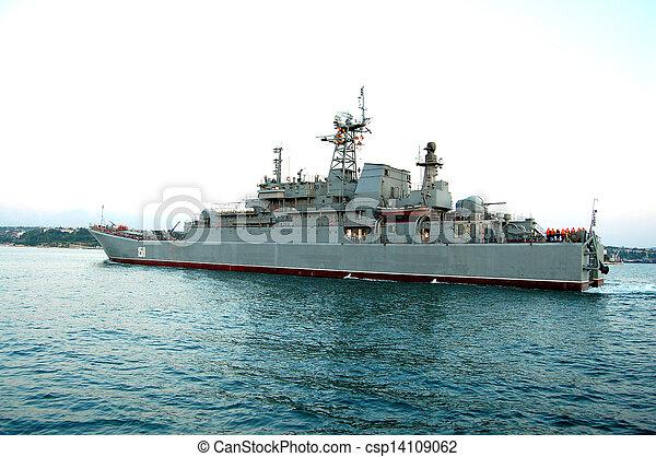military ship - csp14109062