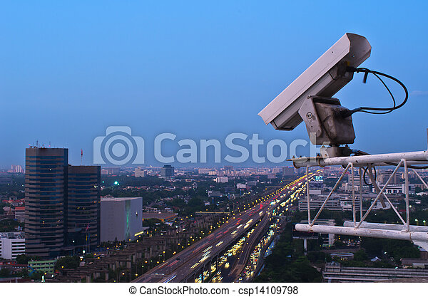 Security camera  - csp14109798