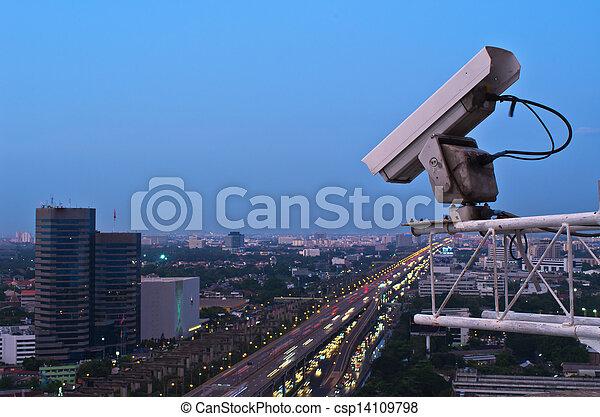 Security camera  - csp14109798