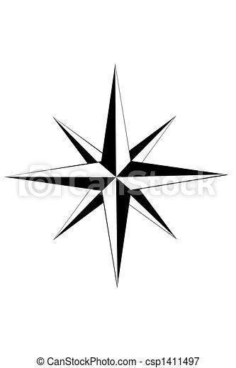 Nautical star - csp1411497