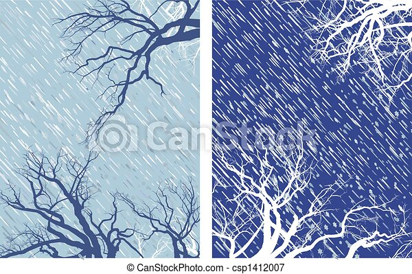 Winter Mood 1 - csp1412007