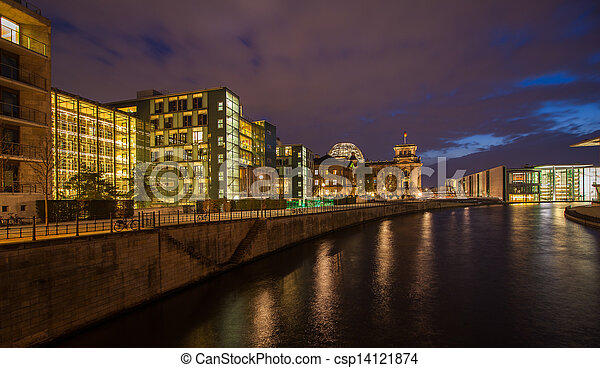 government district Berlin - csp14121874