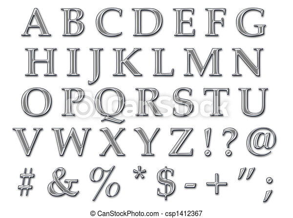 Galerry large alphabet coloring letters
