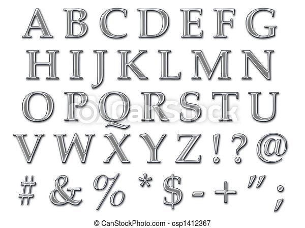 Beautiful Capital Letters