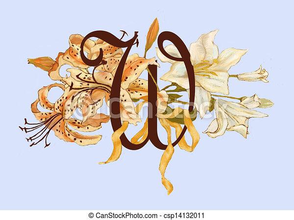 Clip Art Tiger Lily