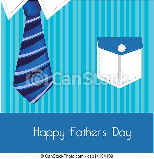Vector Clip Art De Pap 225 Camisa Y Corbata Color Azul