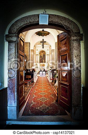 歴史的, 教会 - csp14137021