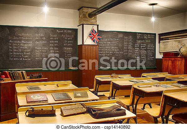 Old Vintage Classroom
