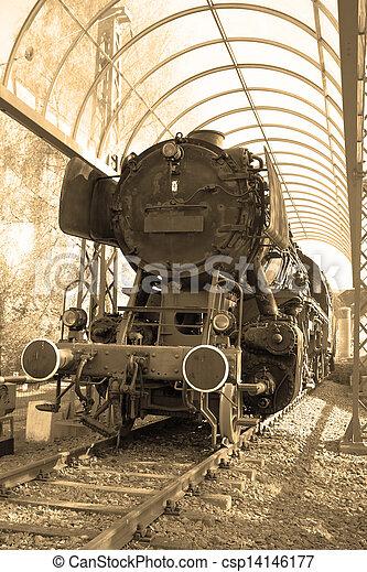 Steam locomotive - csp14146177