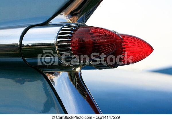 Classic Car Tail Lights - csp14147229