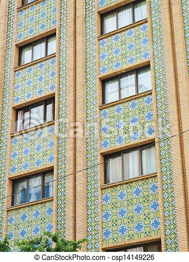 Stock foto mosaik fliesenmuster dekoration geb ude - Dekoration mosaik ...