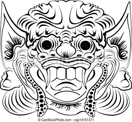 Vecteur Masque Banque Dillustrations Illustrations Libres De