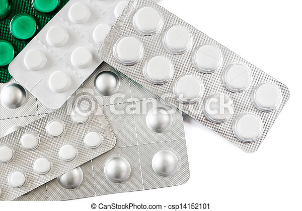 Blister of pharmaceutical pills - csp14152101