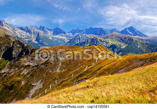 Mountains landscape - csp14155561
