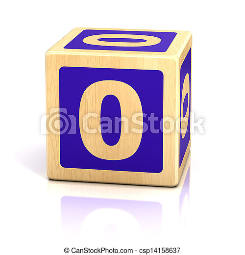 number zero 0 wooden blocks font - stock image, images, royalty free ...