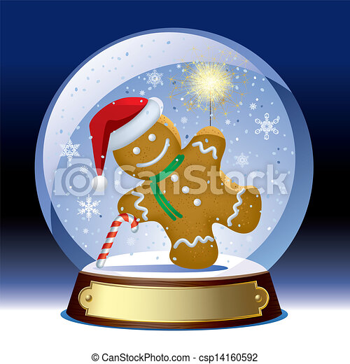 Eps Vectors Of Snow Globe Isolated Raster Version Of