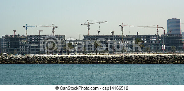New Buildings as Skyscraper in Dubai, United Arab Emirates