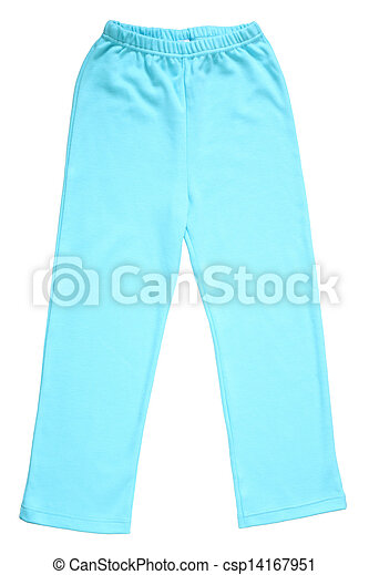 Children's pajamas pants - csp14167951