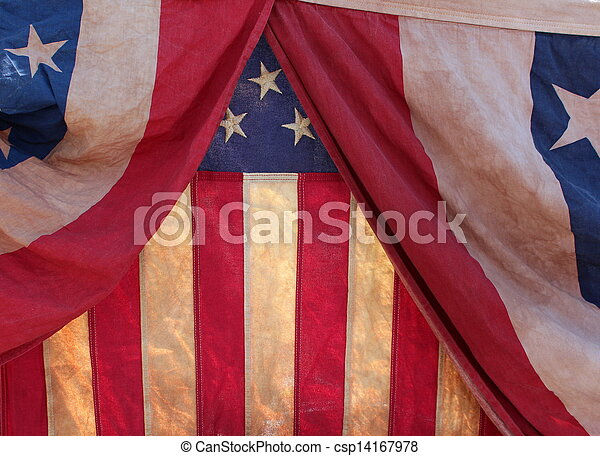 Background of flags - csp14167978