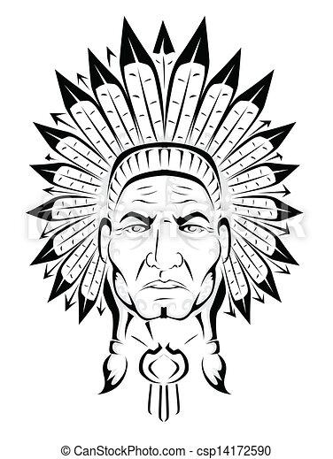 eps vectors of american indian chief csp14172590 search indian chief logo images indian chief logo on tennis shoe