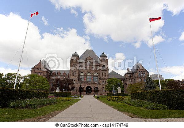 Queens Park Toronto - csp14174749