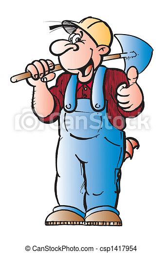 Worker men - csp1417954
