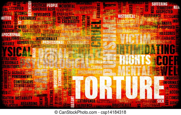 Clipart of torture in interrogation and a extreme punishment csp14184318 search clip art - Clipart tortue ...