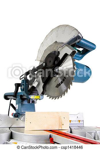 Mitre Saw - csp1418446