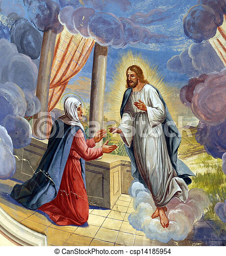 Jesus Appears to Mary