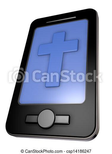 religion app - csp14186247