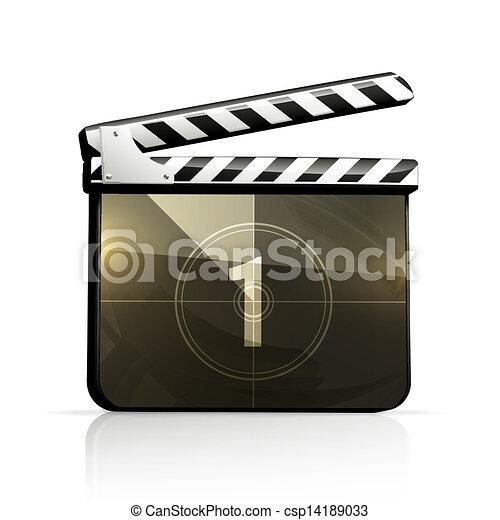 Movie clap - csp14189033