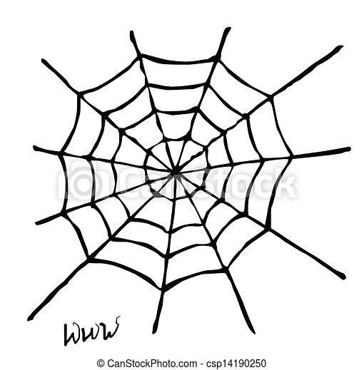 Web Spider Vector Vector Spider Web