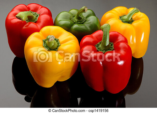 Colorful Bell Peppers - csp1419156