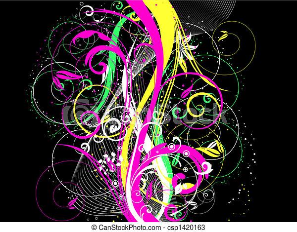 Floral chaos - csp1420163