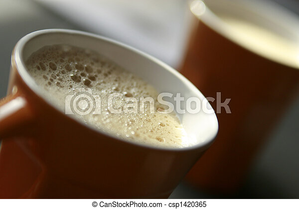 coffee cup drink espresso - csp1420365