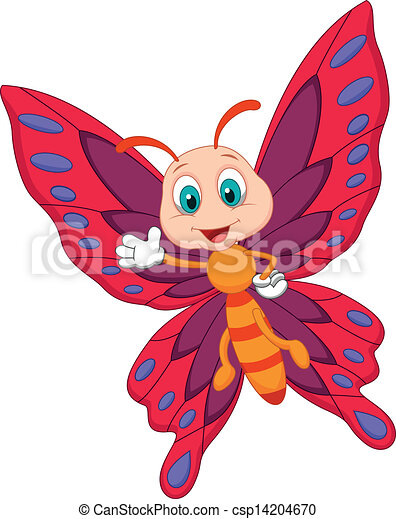 Butterfly cartoon Vector Clip Art EPS Images. 14,440 Butterfly ...