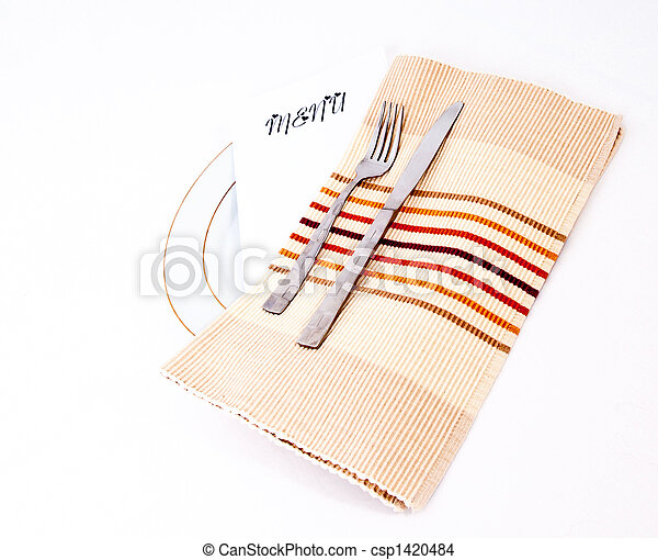 Place setting - csp1420484