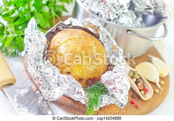 baked potato - csp14204888
