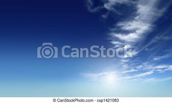 blue sky - csp1421083