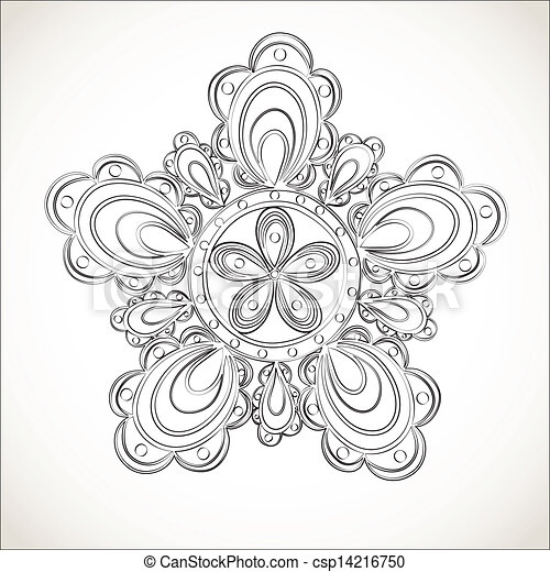 Lace Flowers Drawings Fantasy Flower Black And
