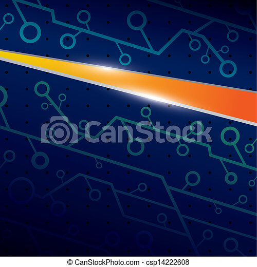Technology background - csp14222608