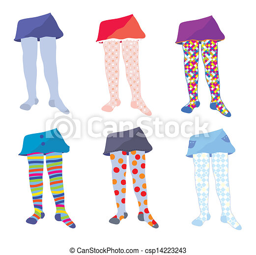 kids in tights