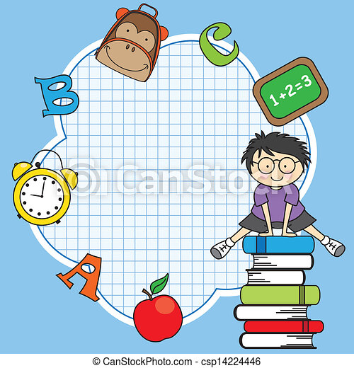 Education and school icon set - csp14224446