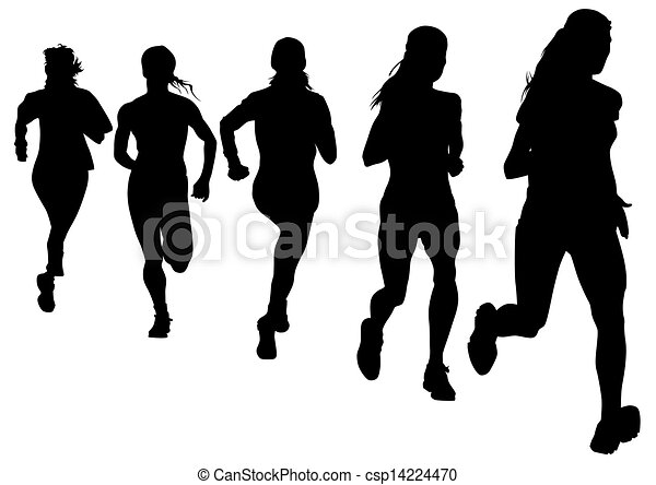 running race track clipart