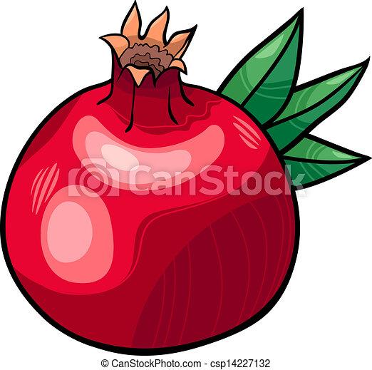 Cartoon Images of Pomegranate Pomegranate Fruit Cartoon