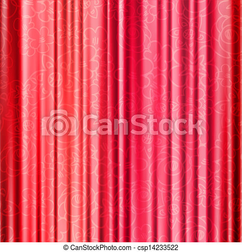 illustration vecteur de rouges fond op ra rideaux fleurs rouges fond csp14233522. Black Bedroom Furniture Sets. Home Design Ideas
